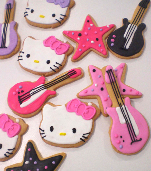 Galletas Kitty Rockera Farinetas