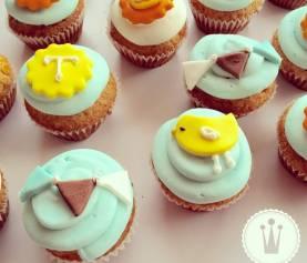 Cupcakes para el primer año de Tomás